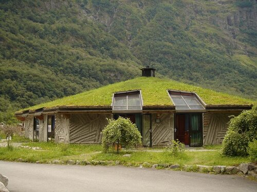 Природный дизайн домов — фото