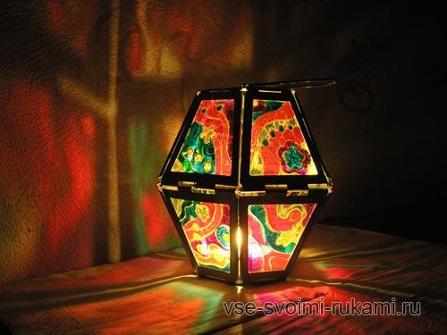 расписываем стекло витражными красками