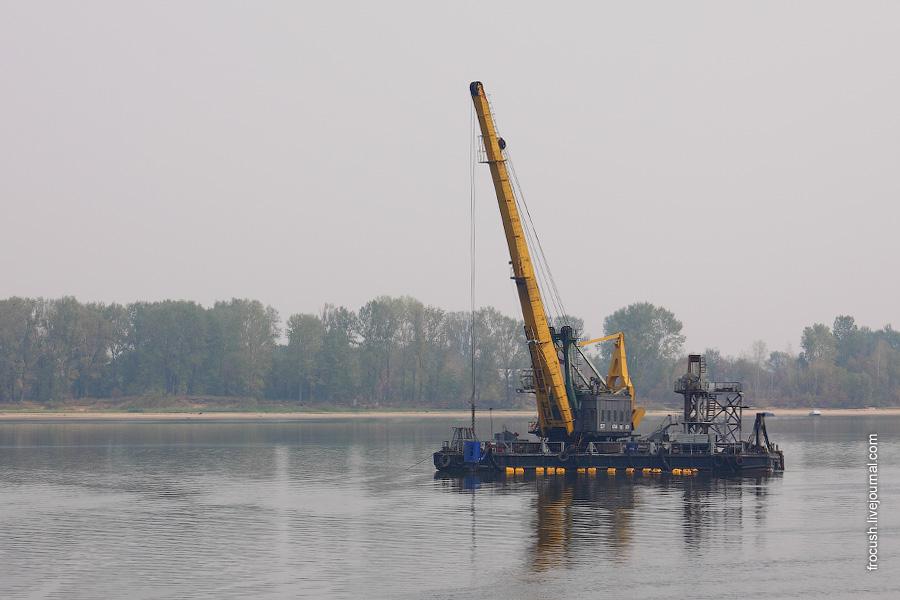 Плавучий кран «КПЛ-57»