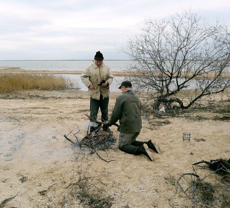 На Ясенской косе, 22 ноября 2010