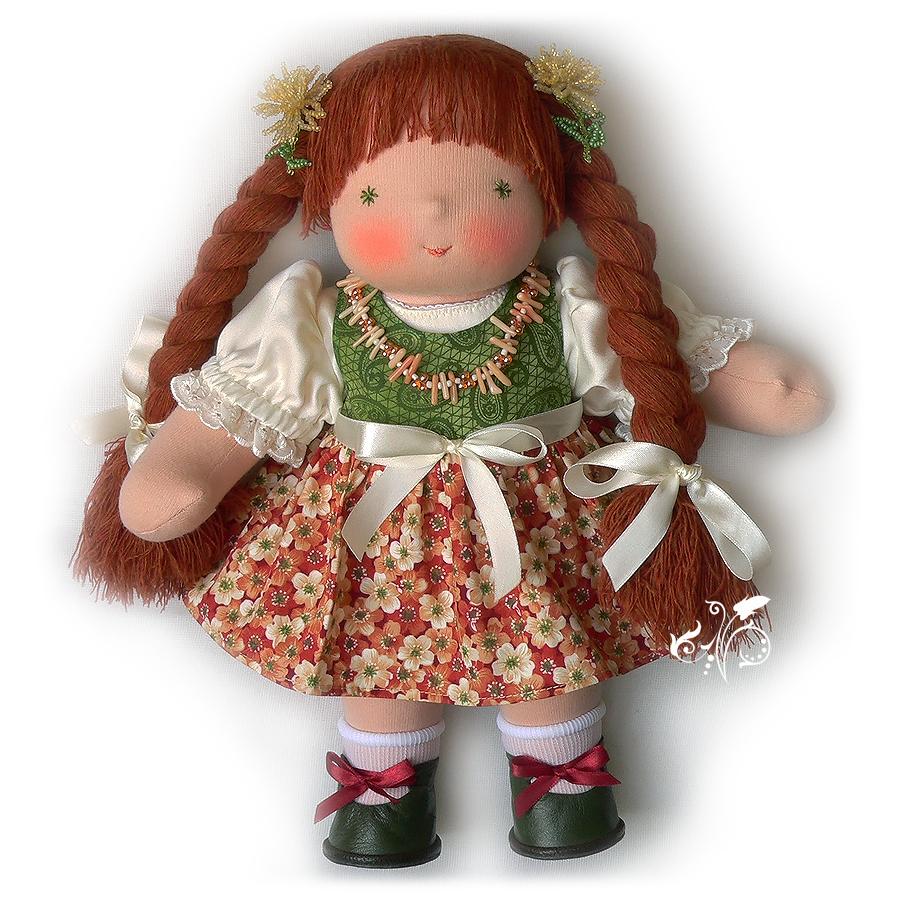 вальдорфская кукла схема