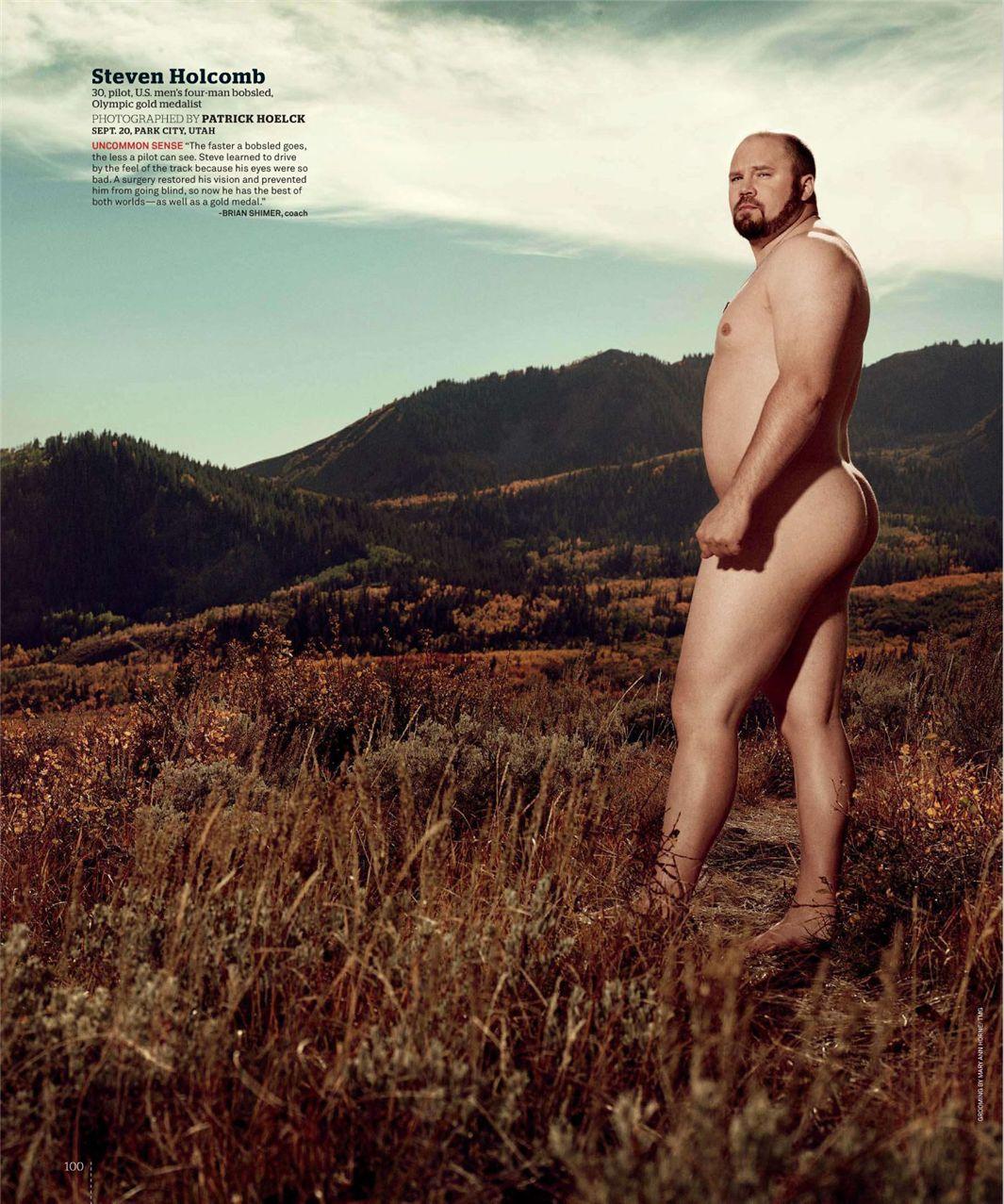 Стивен Холкомб / Steven Holcomb - ESPN Magazine Body Issue 18 october 2010