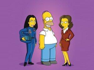 ...Ned Flanders, Chief Wiggum, Milhouse Van Houten, Agnes Skinner.