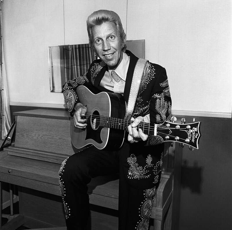 Porter Wagoner.Photographs by Henry Horenstein