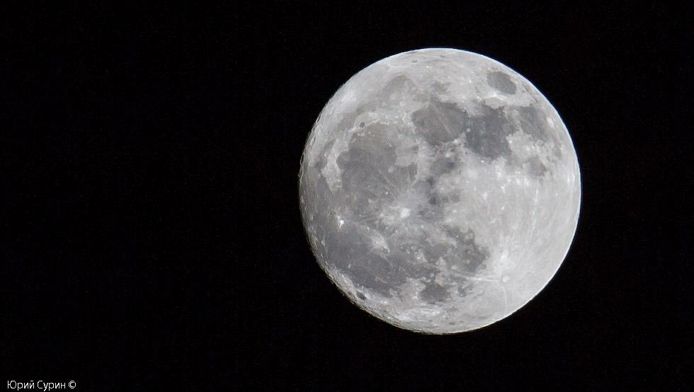 Луна в Твери, Суперлуние