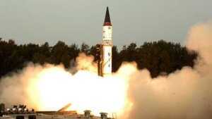 Индия проводит испытания ракеты Agni-1