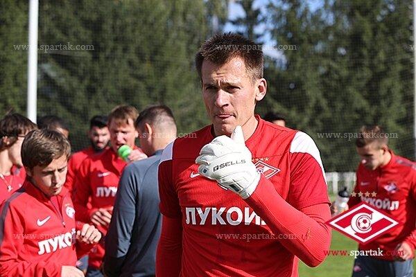 «Спартак» готовится к матчу с «Тереком» (Фото)