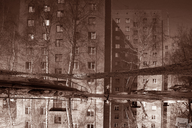 новосибирский дворик. Автор Алёна Рубцова.jpg