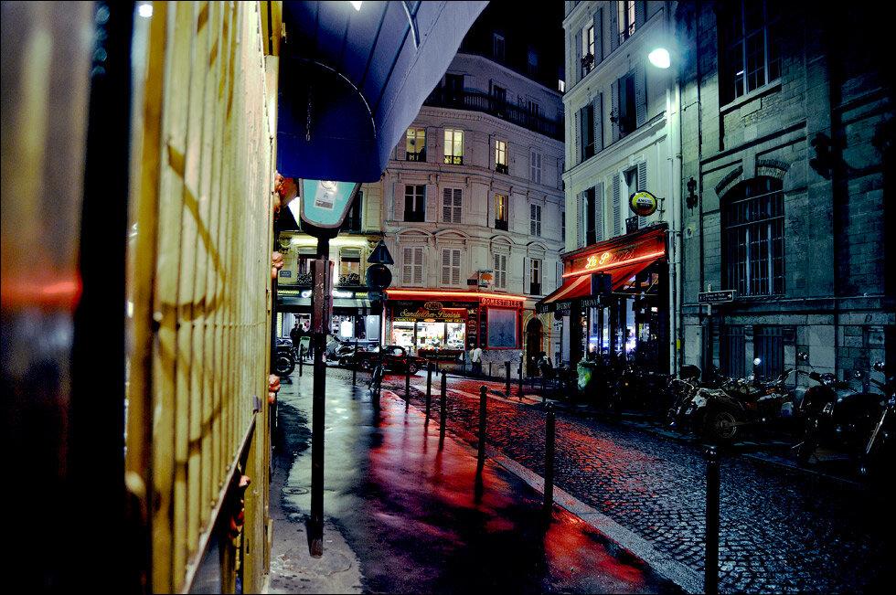 Ночные улочки парижа картинки