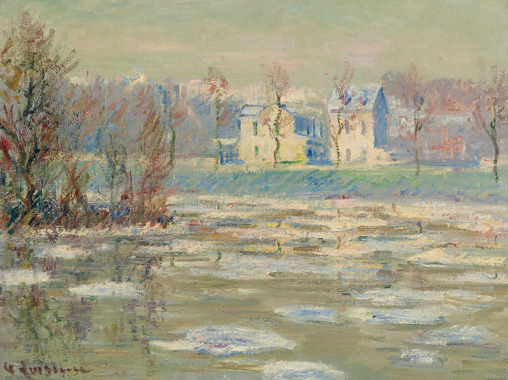 Gustave Loiseau - The Oise at Winter.jpg