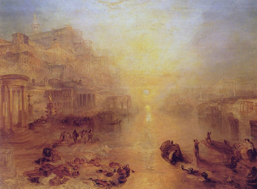 Ancient Italy – Ovid banished from Rome, 1838.jpg