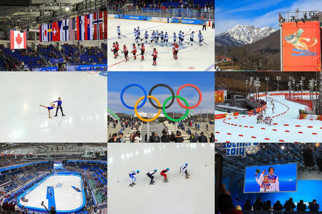 Олимпийские игры, хроники,