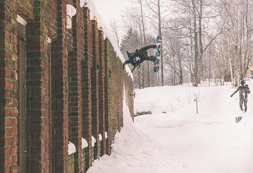 Жизнь сноубордиста: интервью с Дэнни Ларсеном