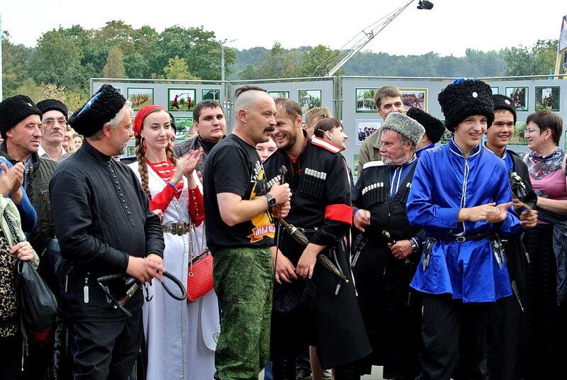 Казачья станица Москва 2014