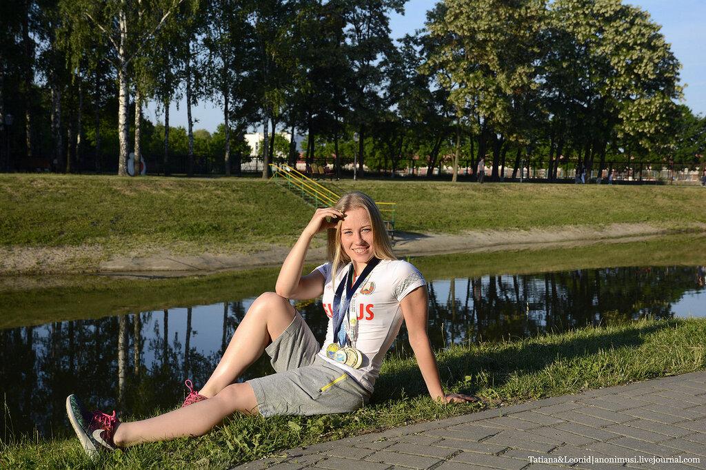 Ирина Просенцова. Чемпионка Европы по современному пятиборью среди юниоров.