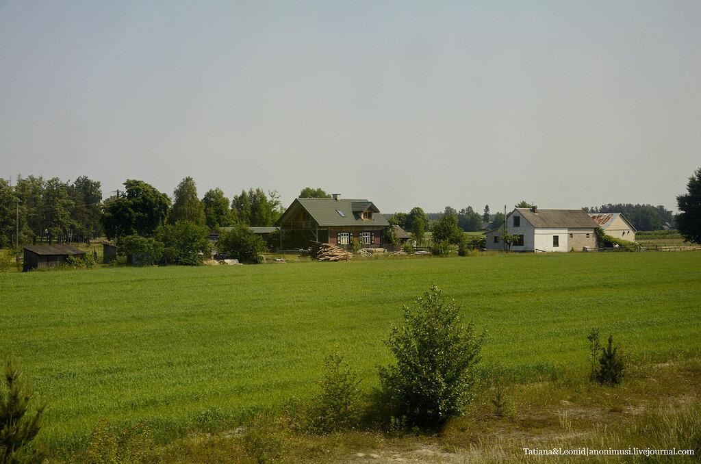 Дорога с Тересполя до Варшавы