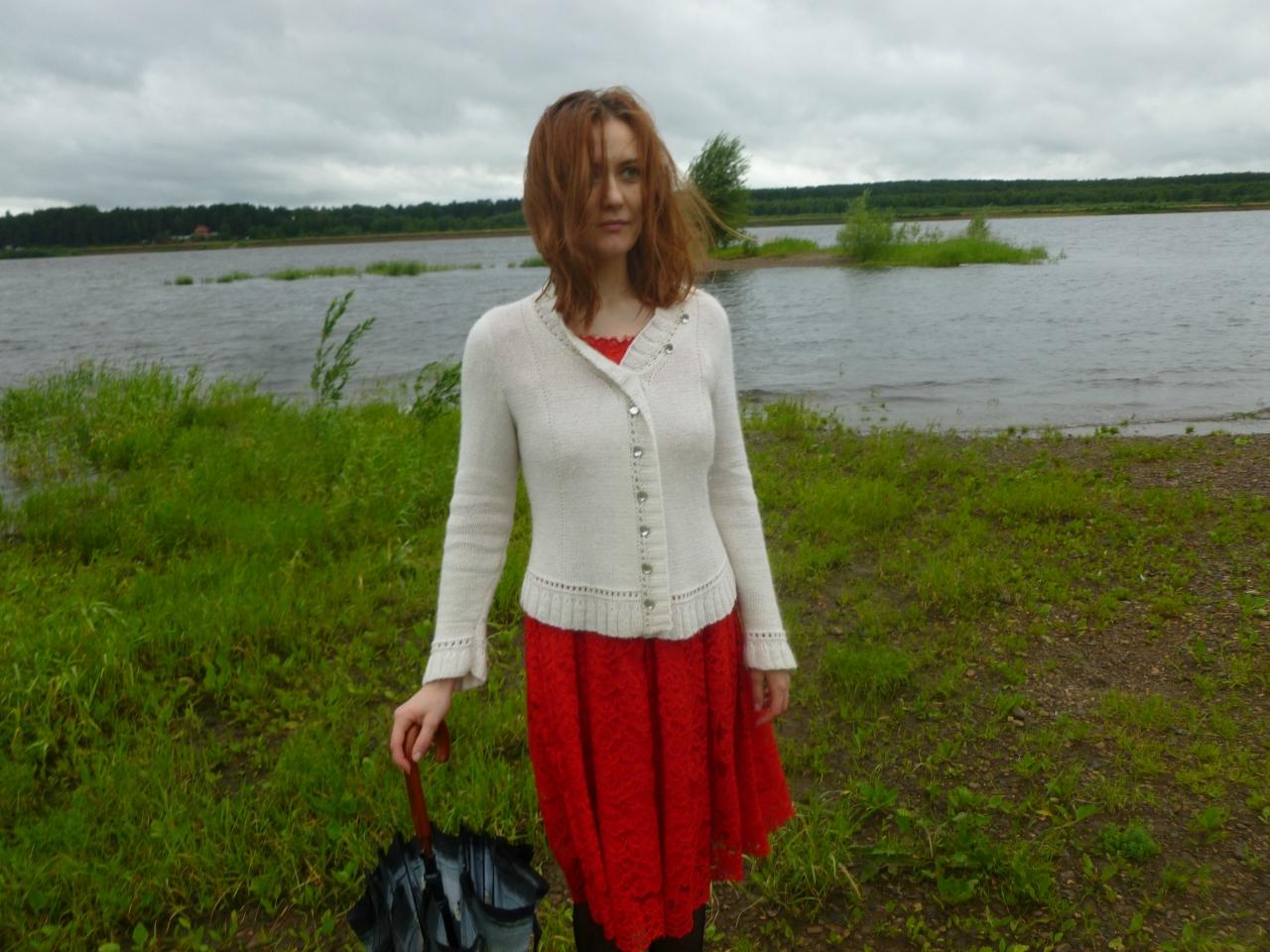 Maroosya red dress