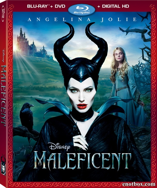 Малефисента / Maleficent (2014/Blu-Ray/BD-Remux/BDRip/HDRip/3D)