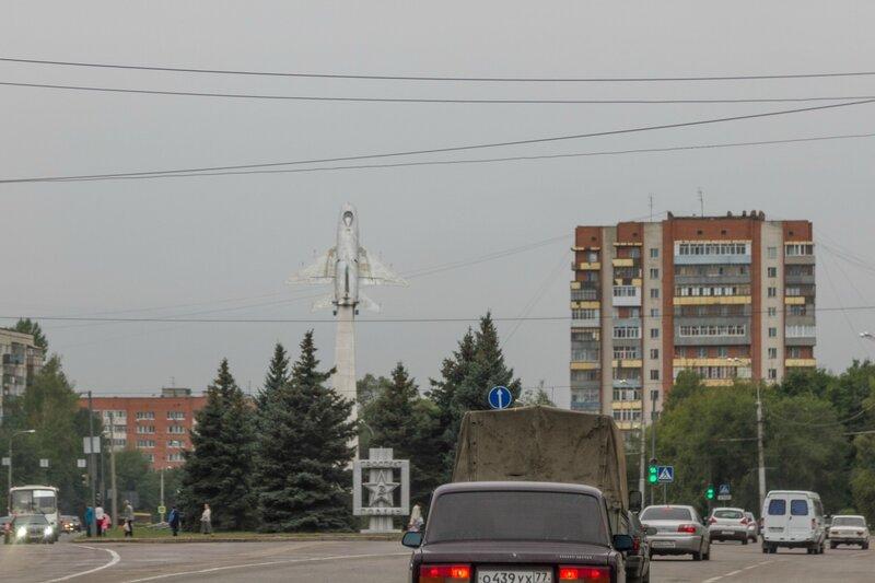 Памятник «Истребитель-перехватчик Су-9», Пенза