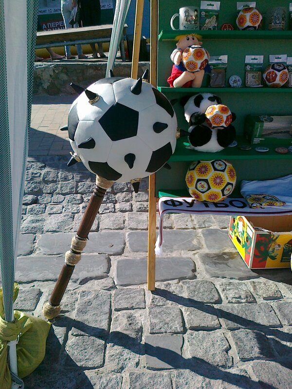 Футбольная булава