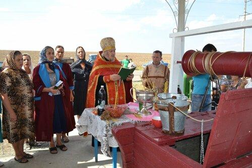 В Казаклии появился новый символ села - облагороженный колодец и стела