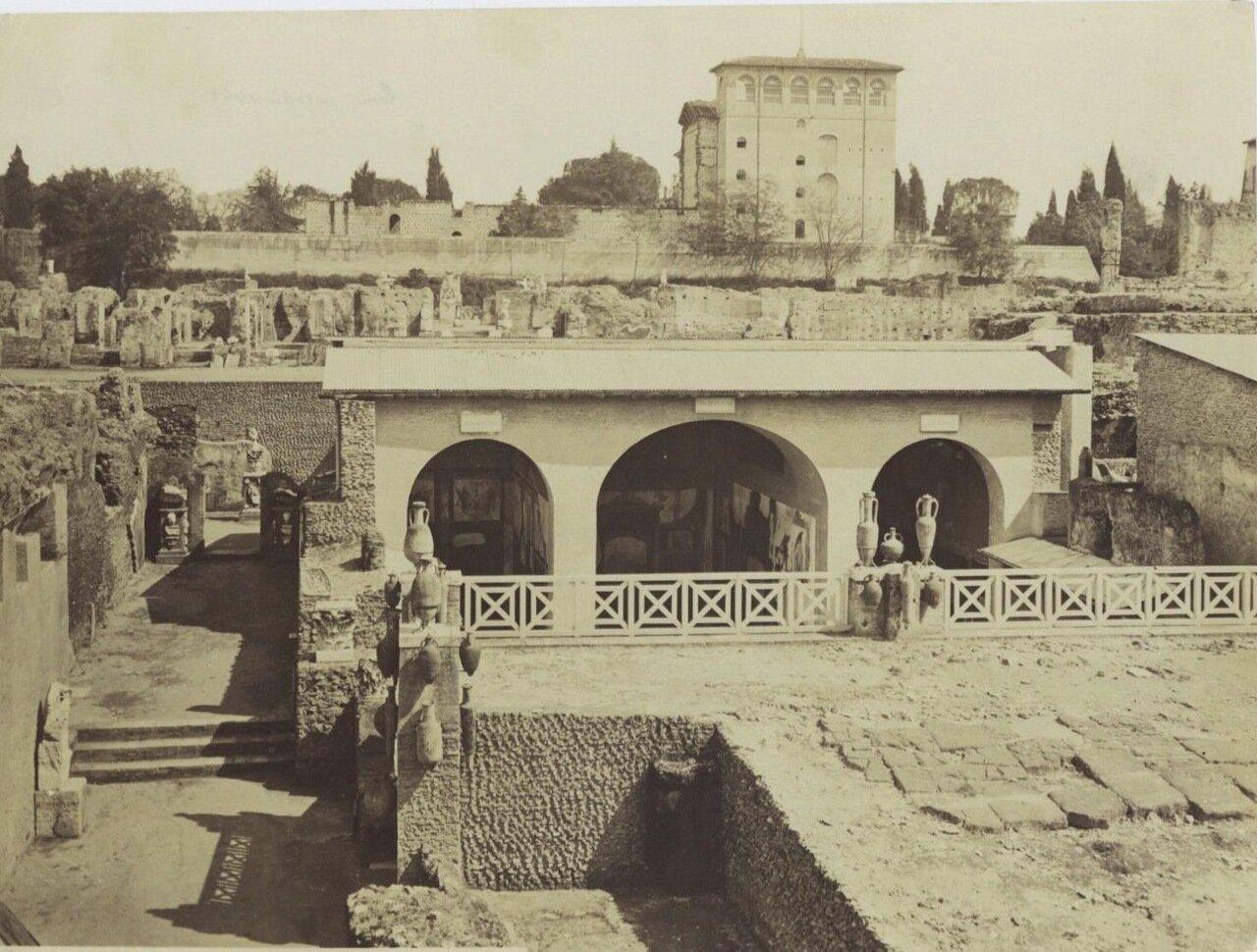 Дворец Тиберия на Палатине