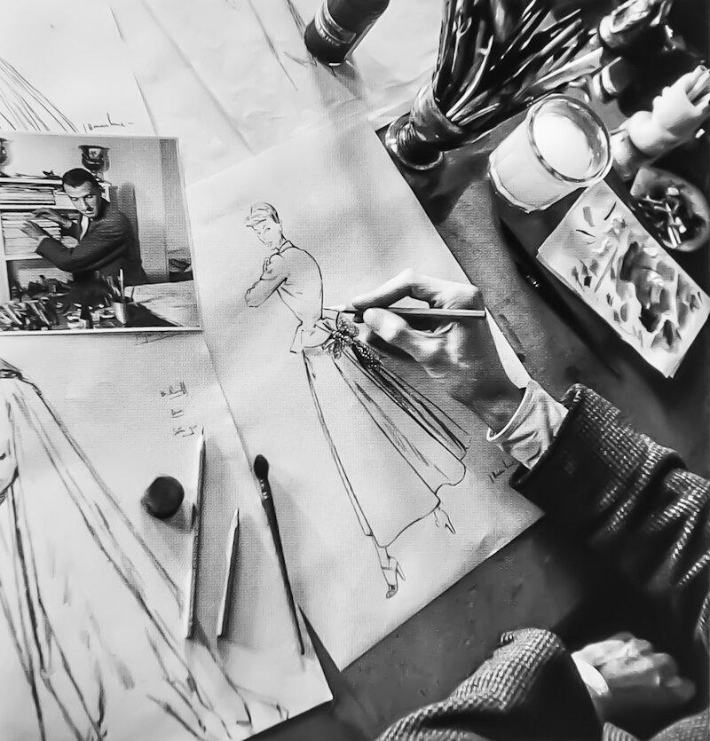 1947. Эскизы Жана-Луи