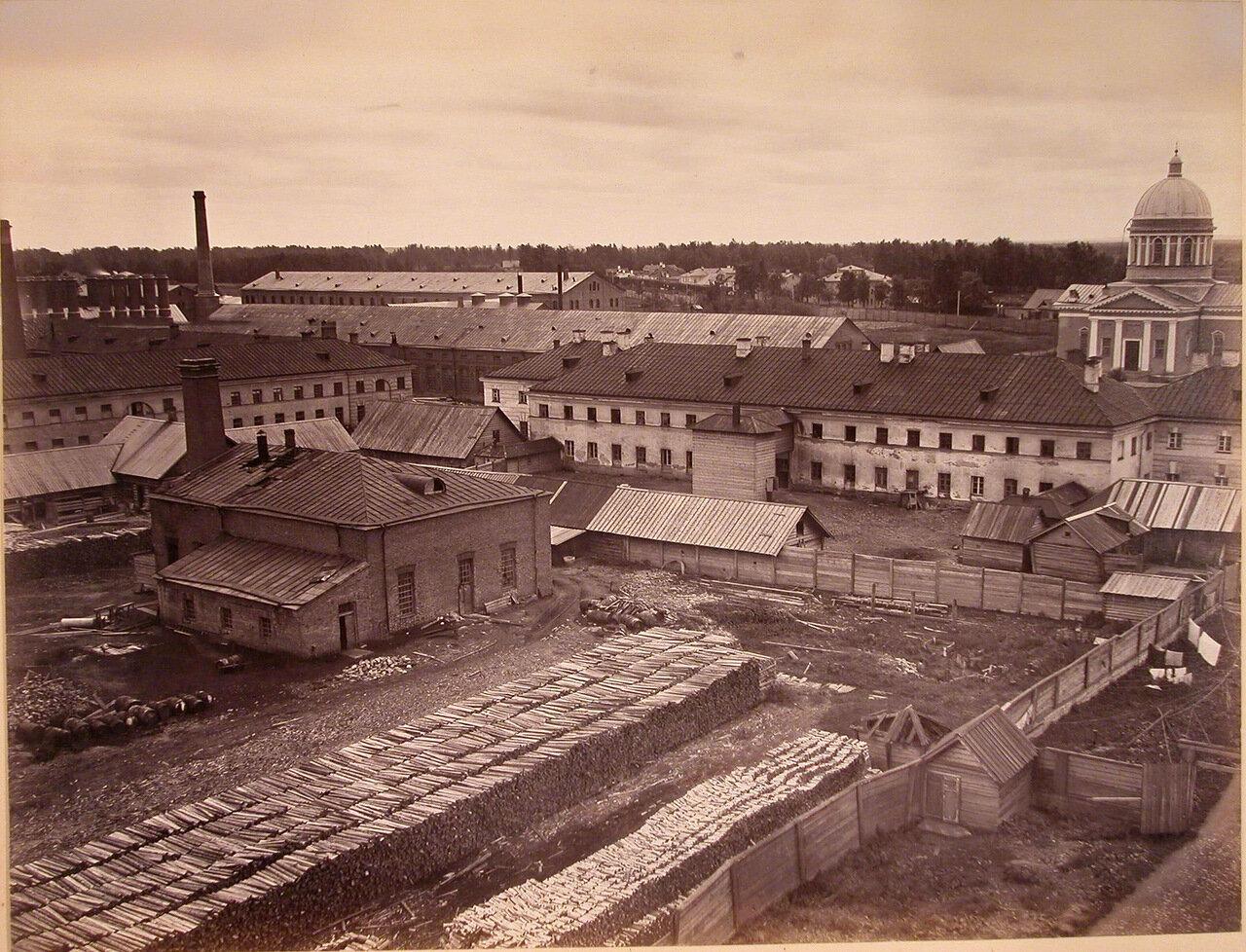 02. Общий вид помещений и территории завода конца 1860-х годов