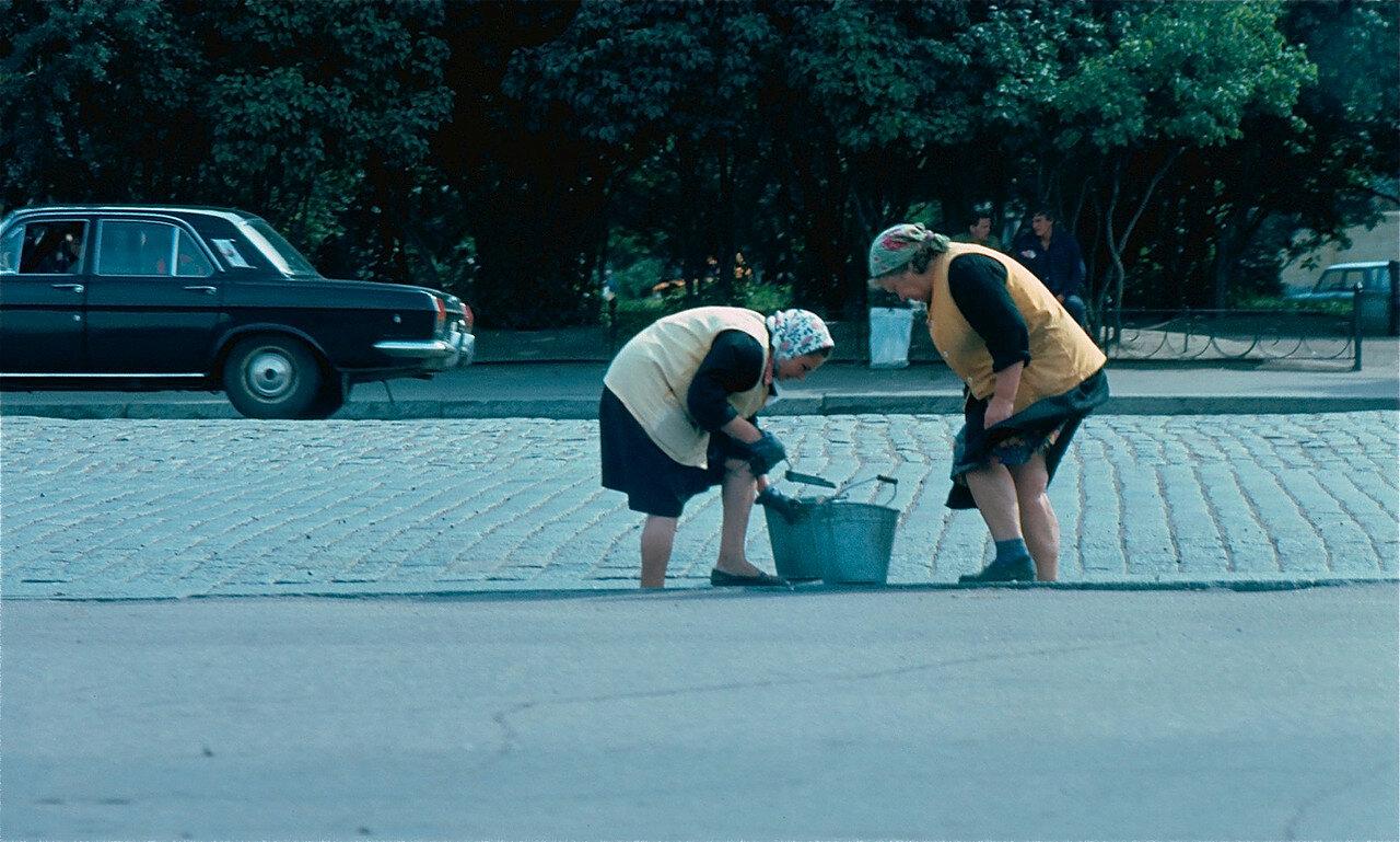 33. Очистка улиц Выборга