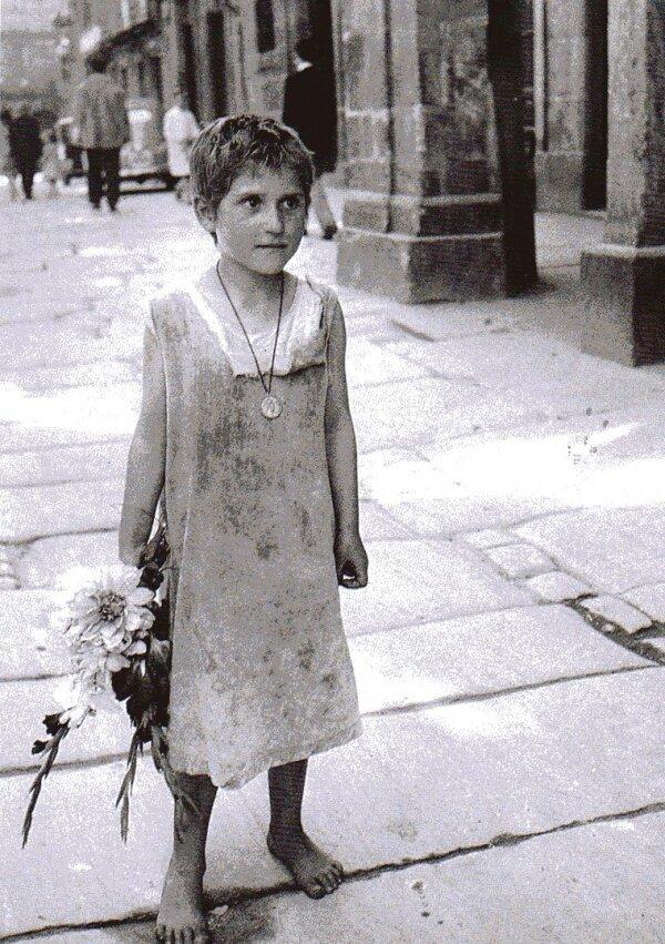 1951. Ребенок. Сантьяго-де-Компостела, Испания