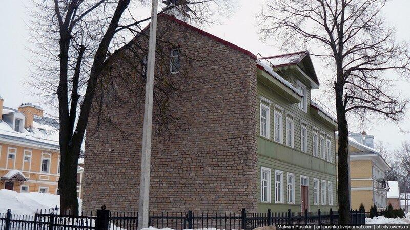 Жилая застройка на ул. К.Либкнехта и Свердлова