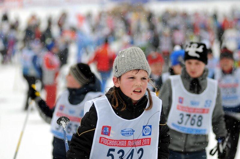 Московская лыжня - 2011