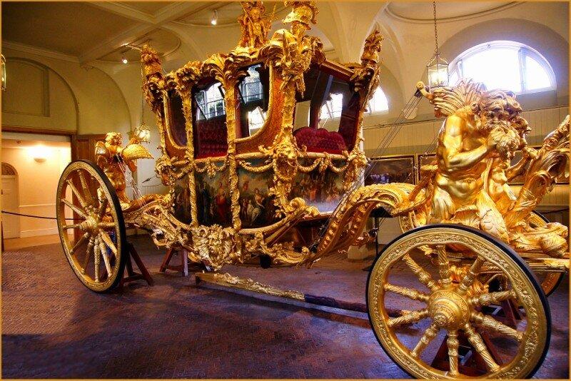 золотая карета фото того как все
