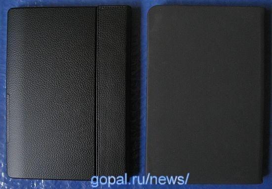 Sony PRS-900 Daily Edition и B&N Nook 3G в фирменных обложках - вид сзади