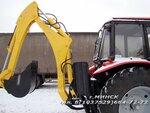 ЭО-2626 экскаватор-погрузчик двухчелюстной на базе промышленного трактора МТЗ-92П