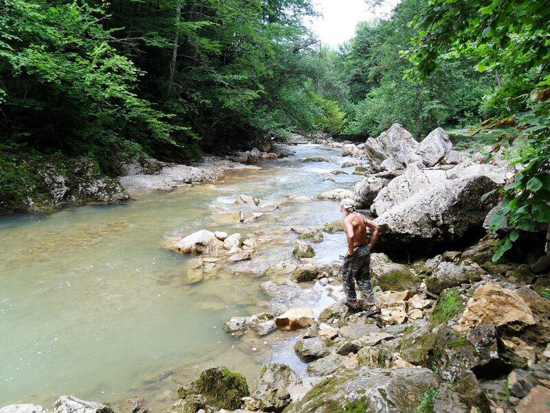 В походе, на берегах, у вод Курджипса ... SAM_0538