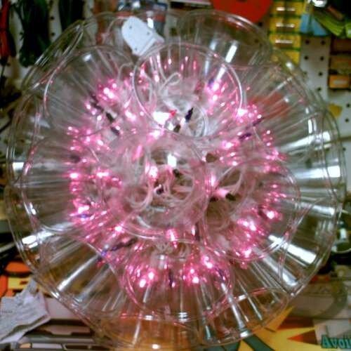 Как сделать светящийся шар из стаканчиков