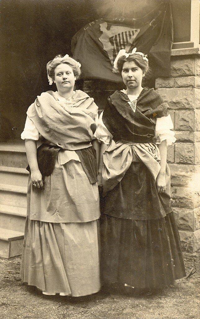 Ирландский Дамы в Нью-Йорке в День святого Патрика 1910