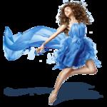 Girls - Blue Dress
