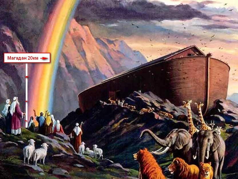 Ветхозаветная Колыма - колыбель и могила Великой Тартарии?