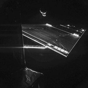 Селфи-фото от космического аппарата Roosetta