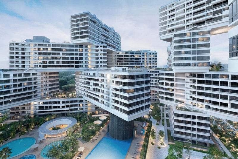 Сингапур стал местом постройки шестиугольного комплекса