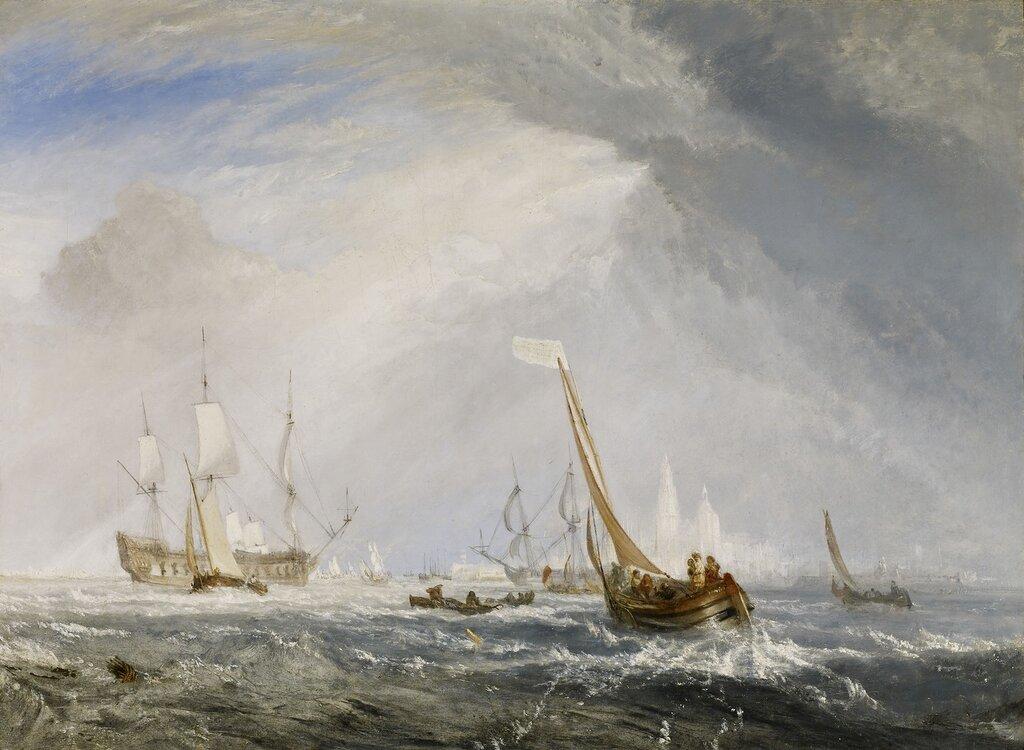 Antwerp - Van Goyen Looking Out for a Subject, 1833.jpg