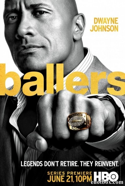 Игроки / Футболисты / Ballers - Полный 1 сезон [2015, HDTVRip | HDTV 720p, 1080i] (Amedia)