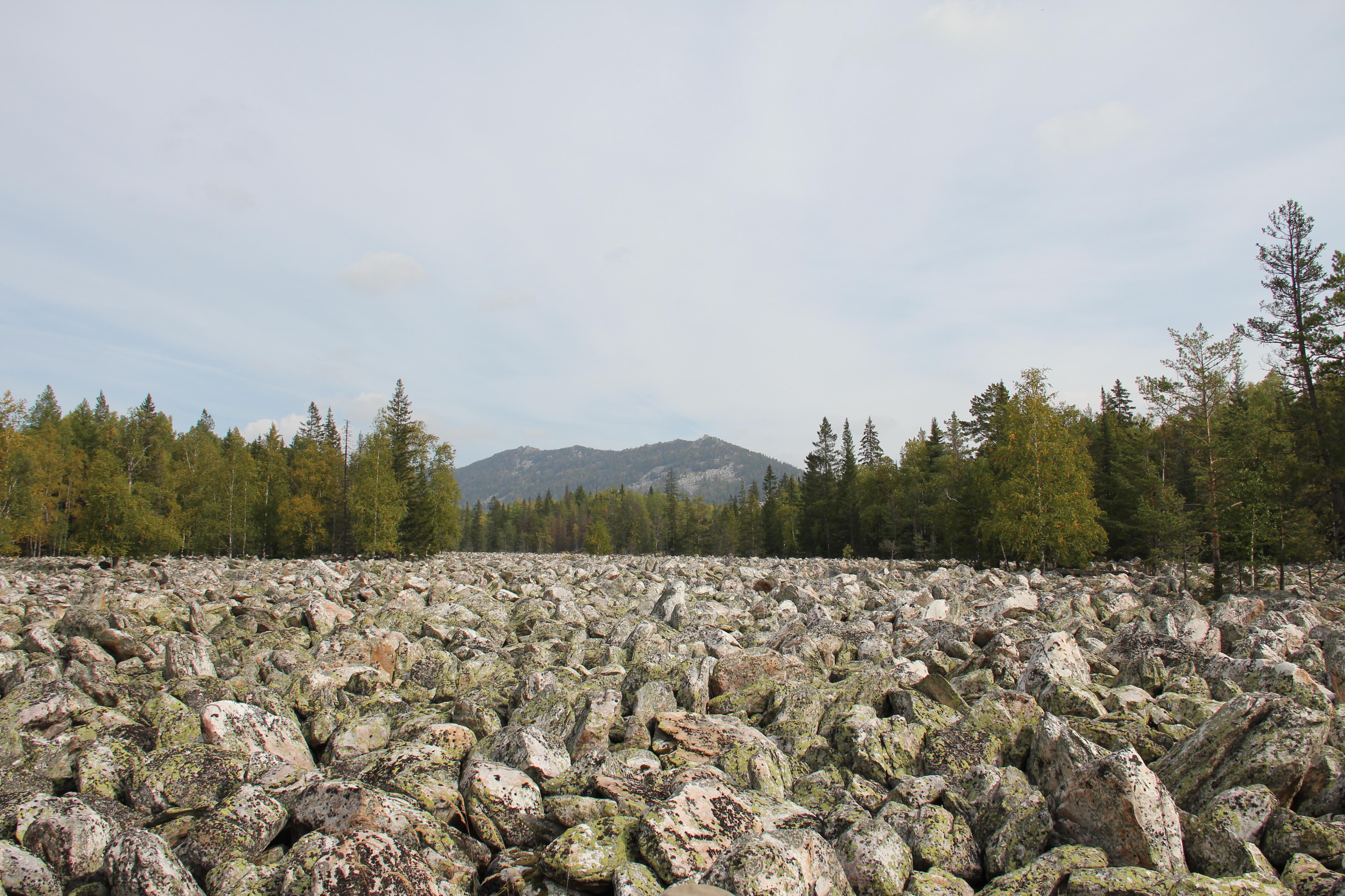 Каменная река наТаганае (30.09.2014)