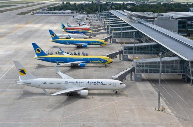 От украинской столицы получено извещение ополном прекращении полетов— МинтрансРФ