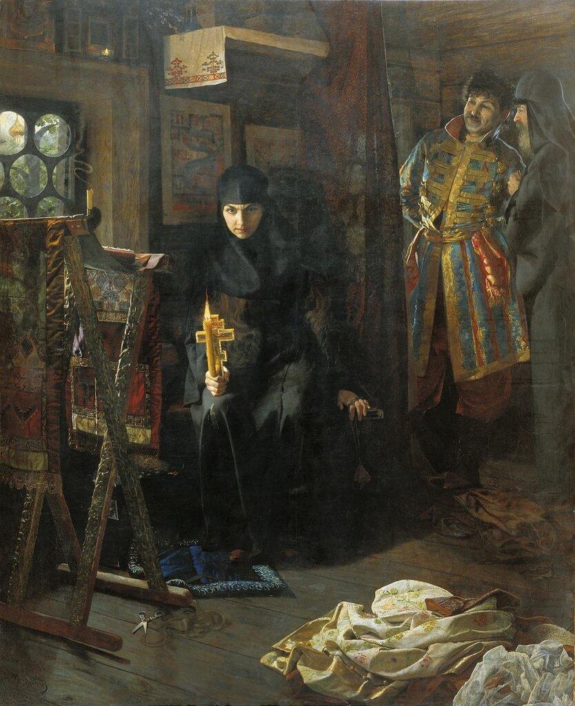 0613.Matveev.Nikolaiy.(1855-1939).Protiv.voli.postrizhennaia.holst.maslo.jpg