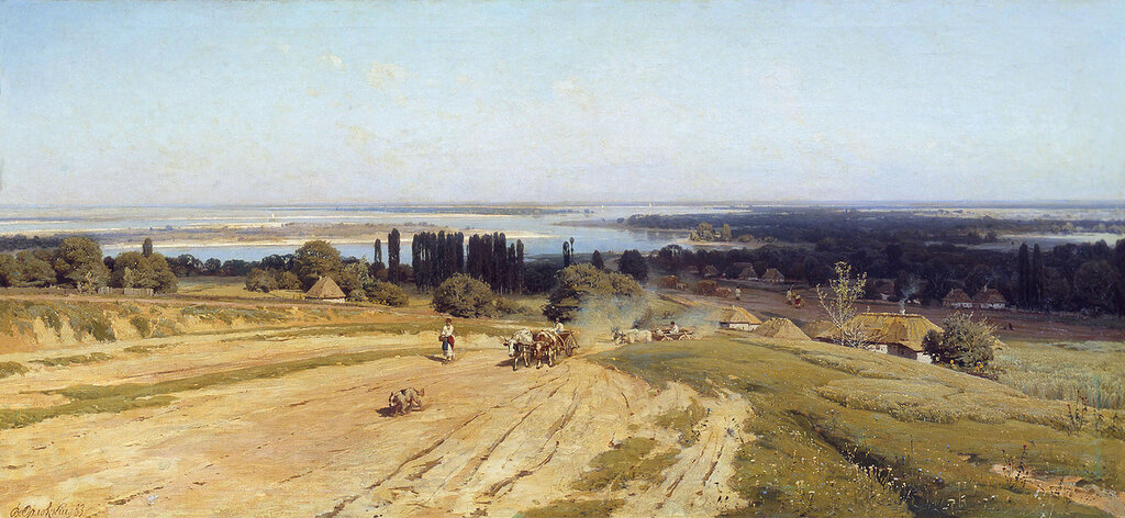 0781.Orlovskiiy.Vladimir.Vid.na.Ukraine.1883.holst.maslo.jpg