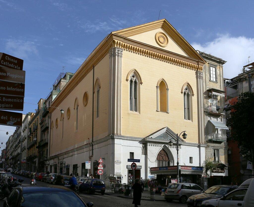 Неаполь. Церковь Крочелле-аи-Маннези (Chiesa delle Crocelle ai Mannesi)