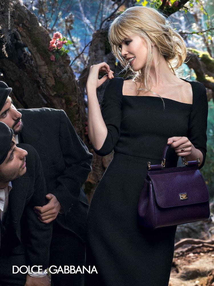 Рекламная компания Dolce & Gabbana осень-зима 2015